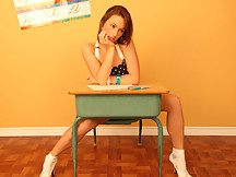 Kates Playground - Kate is in the classroom working hard at her desk and she can't help but do a little tease for all the guys in the audience. - Kates Playground - Kate is in the classroom working hard at her desk and she can't help but do a little tease for all the guys in the audience.