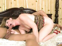 MILF Sucks A Cock Then She Bends Over and Gets Plowed Doggystyle